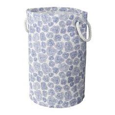 IKEA - KLUNKA, Cesto per il bucato, Puoi usare questa cesta per il bucato anche per organizzare altre cose, come i giocattoli dei bambini.È facile da trasportare grazie ai manici resistenti.Il rivestimento interno in plastica protegge dalla ruggine.La cesta per il bucato è pieghevole e quindi facile da mettere via, quando non la usi.