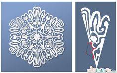 Virtual Snowflake Creator - Cut 5