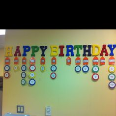 Made this for the staff room at work!