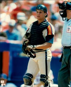 Craig Biggio - Houston Astros This is how I will always see him. As our Astro's catcher.