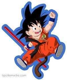 Goku from the Dragon Ball Anime Dragon Ball Gt, Dragon Ball Z Shirt, Kid Goku, Goku Birthday, Birthday Cake, Manga Dragon, Goku Vs, Manga Anime, Anime Art
