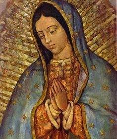 Our Lady of Guadalupe - clothed with the sun, and the moon under her feet, and upon her head a crown of twelve stars