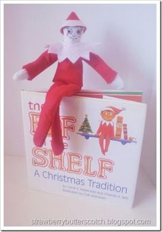 7c72cea5e1e96 Christmas Crafts  Diy Elf on a Shelf with Outfit Tutorial