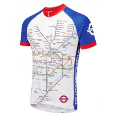 Underground Road Cycling Jersey.  Features:  high- performance, breathable Coolmax© keeps you fresh and comfy  ¾-length zip  three deep pockets at rear  long back to keep you warm  sport cut - snug but not too tight  fade-free printing  easy-care; machine wash at 30°