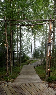PIENI MUSTA MÖKKI Outdoor Projects, Garden Projects, Outside Movie, Landscape Stairs, Backyard Lighting, Lake Cottage, Cottage Interiors, Garden Structures, Garden Inspiration