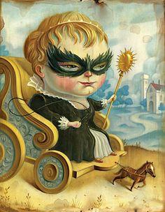 Queen Pony by Chris Buzelli #art #illustration #buzelli