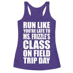 Are you KIDDING me? We were going to go over volcanoes today! What're you doing?! I need my science fix! Whether you're running at the gym or on the trails, wear this nerdy fitness design and hurry to hop on that magic school bus. | HUMAN