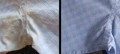 Cheap & easy way to remove yellow sweat stains from your clothes