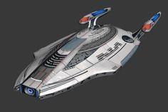 Star Trek Online: Modeling Omega   Star Trek Online