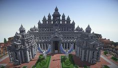 Justizpalast - a huge courthouse [Level 50 Special] Minecraft Project