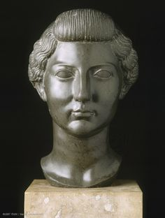 Livia      Circa 31 BC      Unknown      Rome      Basanite, sculpture in the round      H. 32 cm      Former Roger, Hope and Fould Collections. Purchased 1860.  | Louvre Museum | Paris