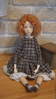 Коллекционные куклы ручной работы. Кэти. Коллекционная авторская кукла.. Анна Мурсалова. Ярмарка Мастеров. Волосы натуральные