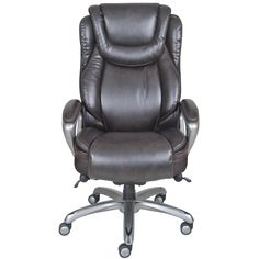 2018 Serta Smart Layers Air Arlington Executive Chair Black Pewter - Expensive Home Office Furniture Check more at http://adidasjrcamp.com/serta-smart-layers-air-arlington-executive-chair-black-pewter/