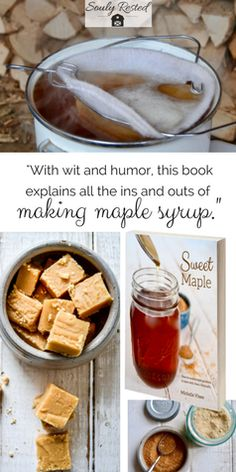 #maplesyrup baking with #maple #bookreviews #homesteading #farmtotable #sustainableliving #allnaturalsugar