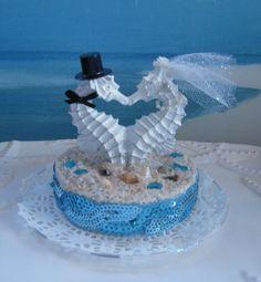weddingstuff2014.com Reserved OrderSeahorse Seashell Beach Wedding by CeShoreTreasures, $45.00