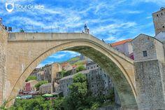 Meet the #OldTown of #Mostar through photography. Visit our website: www.tourguidemostar.com #travel #travelworld #tourguidemostar #visitmostar #herzegovina #stonebridge #oldbridge #summer #bosniaandherzegovina #citylights #architecture #bluesky