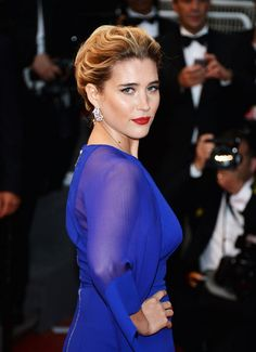 Vahina Giocante sans culotte au Festival de Cannes 2013