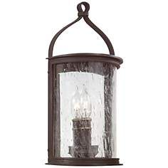 """Scarsdale Collection 7 x 14 1/2"""" High Outdoor Wall Light. Black. 288."""