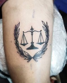 101 Amazing Libra Tattoo Designs You Need To See! Star Tattoos, Body Tattoos, Tribal Tattoos, Hand Tattoos, Libra Scale Tattoo, Libra Tattoo, Tattoo Shading, Tattoo Outline, Scales Of Justice Tattoo
