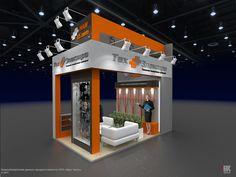 Выставочные стенды on Behance