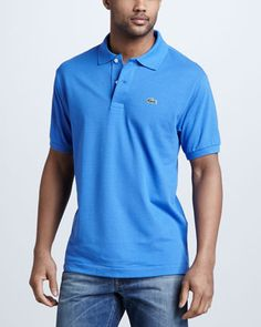 Classic Pique Polo by Lacoste at Neiman Marcus.