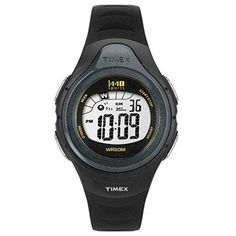 Timex Watch Woman Sports Ladies Black Digital Alarm Chronograph T5K242 Resin…