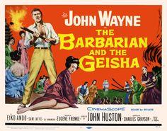 The Barbarian and the Geisha.1958 All Movies, Great Movies, Movies To Watch, Geisha, Iowa, Norman, John Wayne Movies, John Huston, Drama
