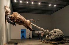 Escultura por Chen Wenling.