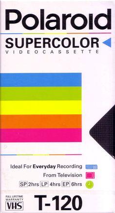 Lot of 8 Polaroid Super Color VHS Blank Video Cassette Sealed Package New 90s Design, Retro Design, Vintage Designs, Vhs Cassette, Vhs Tapes, Foto Art, Diy Phone Case, Retro Aesthetic, Cool Posters
