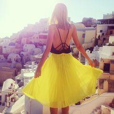 bright yellow @Jessica Stein