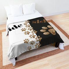 Dog Illustration, Illustrations, My Side, Designs, Toddler Bed, Blanket, Pillows, Dogs, Furniture
