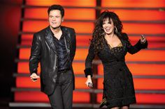 Donny & Marie at the Flamingo.