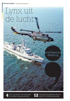 Voorpagina Puntkomma, 11 september 2012