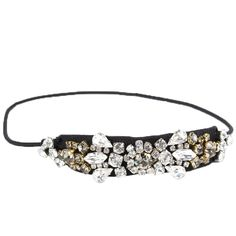 Vintage crystal headband, Cristallo fumè.  #Rada #boomandmellow #vintage #jewellery  #headpiece #headband #jewels #accessories #accessory #artistic #funky #cool #pretty #french #hairband