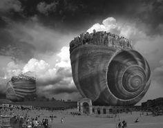 I surreali fotomontaggi di T. Barbey 11