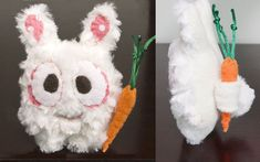 Plush Bunny with Carrot