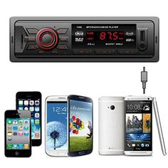 Hatop Car Radio Stereo InDash MP3 Music Player FM USB SD AUX Input Receiver *** Continue to the product at the image link. (Note:Amazon affiliate link)