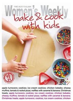 Bake and cook with kids by Susan Tomnay. $11.25 #books #mothersday #cooking