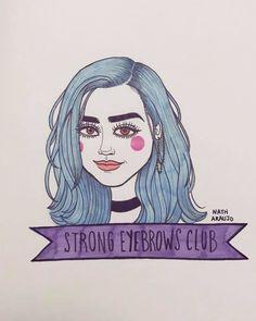 Nath Araújo   Strong Eyebrows Club