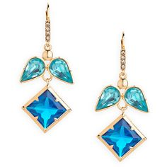 Blue Angel Earrings ($30) ❤ liked on Polyvore