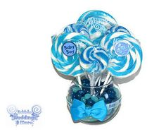 centerpieces for baby boy shower - Google Search