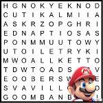 Supermario word search puzzle #mario