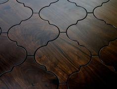 Moroccan wood floor tiles. So pretty! #home #decor #diy You need ...