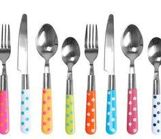 Polka Dot Cutlery Set