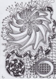 Tangle made by Marlou