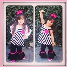MARIO LOPEZ Daughter Gia Strikes A Pose | Babyrazzi