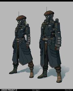 ArtStation - Argos - Clothing & uniforms, Remy PAUL