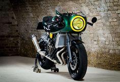 Yamaha XSR700 av WS-Motorradtechnik OG