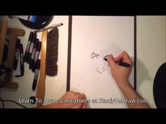 Learn How To Draw Caricatures People Faces Full Drawing Tutorial Tips Te...