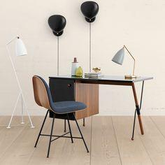 The grasshopper desk by Gubi Grossman